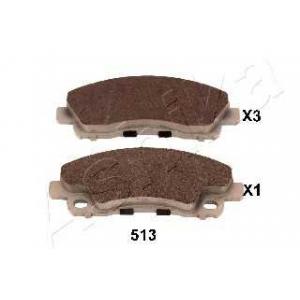 ASHIKA 51-05-513 Комплект тормозных колодок, дисковый тормоз Митсубиси Кантер