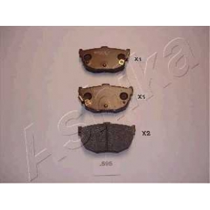 ASHIKA 51-05-595 Комплект тормозных колодок, дисковый тормоз Киа Серато