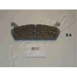 ASHIKA 51-06-601 Комплект тормозных колодок, дисковый тормоз Мазда М-Икс 5