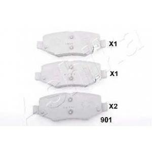 ASHIKA 51-09-901 Комплект тормозных колодок, дисковый тормоз Додж Нитро