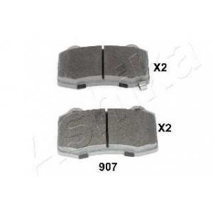 ASHIKA 51-09-907 Комплект тормозных колодок, дисковый тормоз Крайслер 300