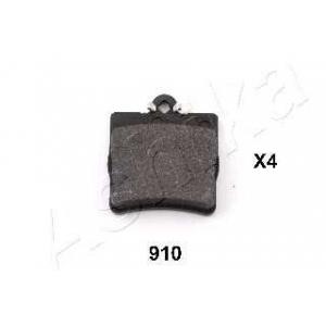 ASHIKA 51-09-910 Комплект тормозных колодок, дисковый тормоз Крайслер Кроссфайр