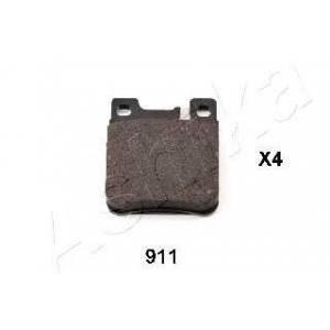 ASHIKA 51-09-911 Комплект тормозных колодок, дисковый тормоз Крайслер Кроссфайр