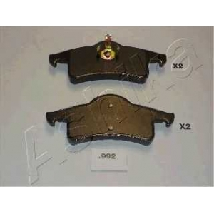 ASHIKA 51-09-992 Комплект тормозных колодок, дисковый тормоз (пр-во ASHIKA)