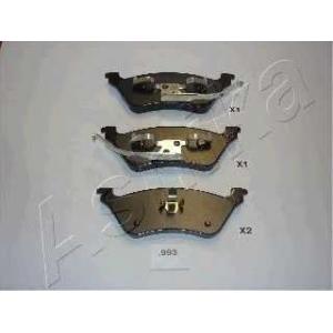 ASHIKA 51-09-993 Комплект тормозных колодок, дисковый тормоз Крайслер