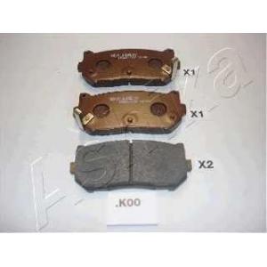 ASHIKA 51-0K-K00 Комплект тормозных колодок, дисковый тормоз Киа Кларус