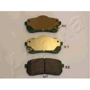 ASHIKA 51-0K-K07 Комплект тормозных колодок, дисковый тормоз Хюндай Н1 Карго