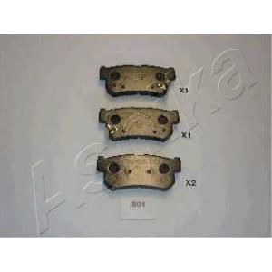 ASHIKA 51-0S-S01 Комплект тормозных колодок, дисковый тормоз (пр-во ASHIKA)