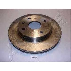 ASHIKA 60-0W-009 Тормозной диск Шевроле Нубира