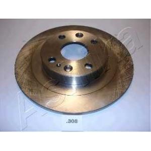 ASHIKA 61-03-308 Тормозной диск Мазда М-Икс