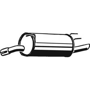 ASMET 05105 Глушитель выхлопных газов конечный