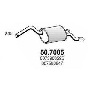 ASSO 50.7005 Глушитель