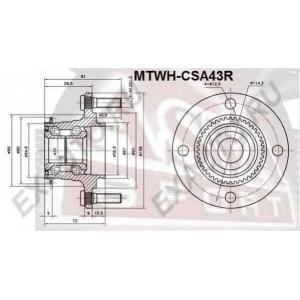 ASVA MTWH-CSA43R СТУПИЦА ЗАДНЯЯ