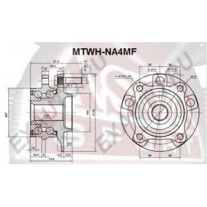 ASVA MTWH-NA4MF СТУПИЦА ПЕРЕДНЯЯ (GRANDIS NA4W/NA8W 2003-2009)