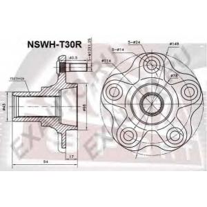 ASVA nswht30r Ступица колеса