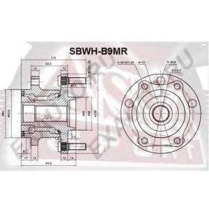 ASVA SBWH-B9MR