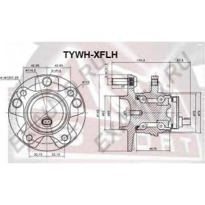 ASVA tywh-xflh Ступица колеса переднего
