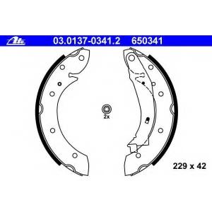 ATE 03013703412 Комплект тормозных колодок