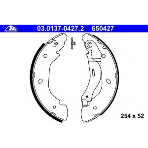 ATE 03.0137-0427.2 Колодки тормозные зад. Ford Transit 00- FWD (254x52)