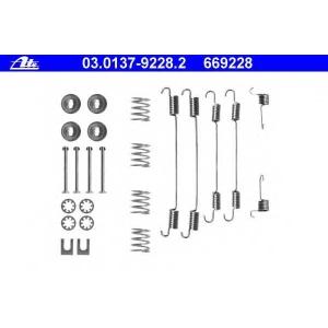 ATE 03013792282 Комплектующие, тормозная колодка