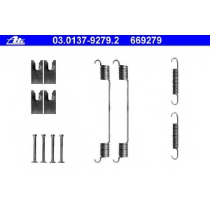 ATE 03.0137-9279.2 ремкомплект задних тормозных пружин