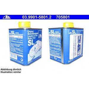 ATE 03.9901-5801.2 Тормозная жидкость DOT 4   500 ml