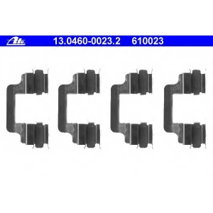 ATE 13046000232 Р-кт зад. гальмівних колодок VW T-5 03-