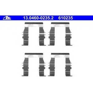 ATE 13.0460-0235.2 Комплектующие, колодки дискового тормоза Ситроен С Кроссер