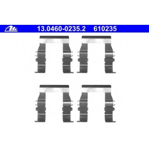 ATE 13.0460-0235.2 Комплектующие, колодки дискового тормоза Митсубиси Л 200