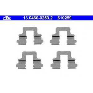 ATE 13046002592 Комплектующие, колодки дискового тормоза