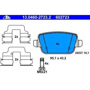 ATE 13.0460-2723.2 Комплект тормозных колодок, дисковый тормоз Форд Куга