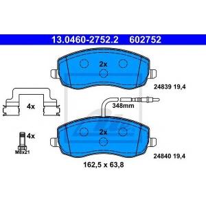 ATE 13.0460-2752.2 Комплект тормозных колодок, дисковый тормоз Ситроен C8