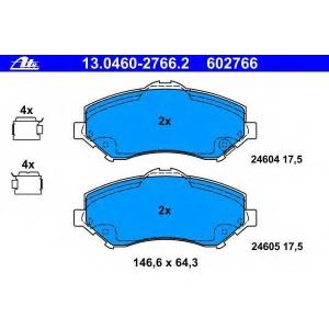 ATE 13.0460-2766.2 Комплект тормозных колодок, дисковый тормоз Фиат Фримонт