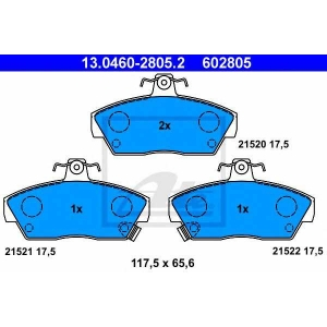 ATE 13046028052 Brake pads