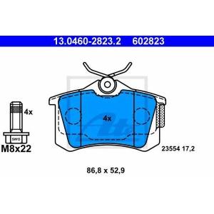 ATE 13.0460-2823.2 Комплект тормозных колодок, дисковый тормоз Ситроен С3 Плюриель