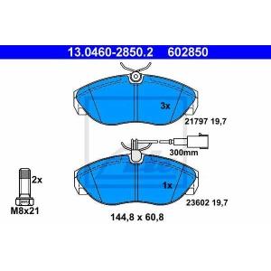 ATE 13046028502 Комплект тормозных колодок, дисковый тормоз