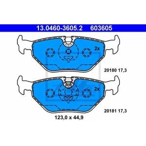 ATE 13.0460-3605.2 Комплект тормозных колодок, дисковый тормоз Бмв З3
