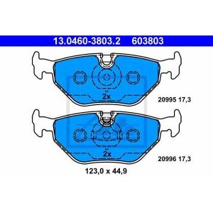 ATE 13.0460-3803.2 Комплект тормозных колодок, дисковый тормоз Бмв З1