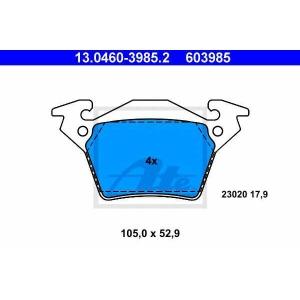 �������� ��������� �������, �������� ������ 13046039852 ate - MERCEDES-BENZ VITO ������� (638) ������� 108 D 2.3 (638.164)