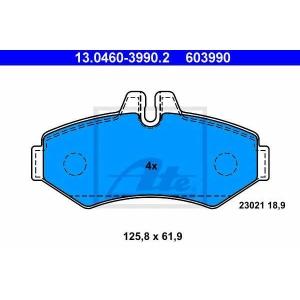 Комплект тормозных колодок, дисковый тормоз 13046039902 ate - MERCEDES-BENZ G-CLASS (W461) вездеход закрытый G 280 CDI