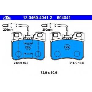 ATE 13.0460-4041.2 Комплект тормозных колодок, дисковый тормоз Ситроен Ах