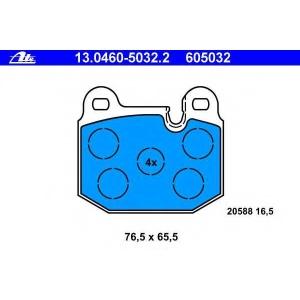 ATE 13.0460-5032.2 Комплект тормозных колодок, дисковый тормоз Бмв 3