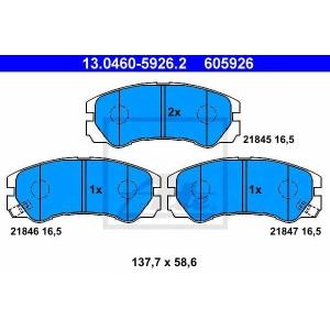 ATE 13.0460-5926.2 Комплект тормозных колодок, дисковый тормоз Опель Фронтера