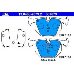 ATE 13.0460-7079.2 Комплект тормозных колодок, дисковый тормоз Бмв З8
