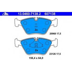 ATE 13.0460-7138.2 Комплект тормозных колодок, дисковый тормоз Ягуар