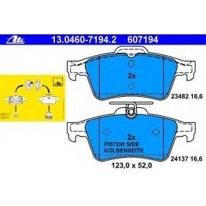 ATE 13.0460-7194.2 Комплект тормозных колодок, дисковый тормоз Форд Транзит Коннект