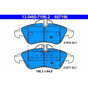 Комплект тормозных колодок, дисковый тормоз 13046071962 ate - MERCEDES-BENZ SPRINTER 2-t автобус (901, 902) автобус 208 D