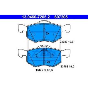 ATE 13.0460-7205.2 Комплект тормозных колодок, дисковый тормоз Мазда Трибут