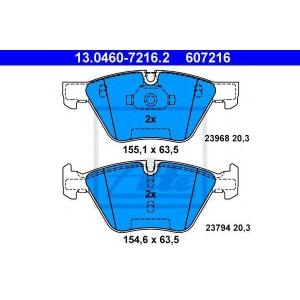 ATE 13.0460-7216.2 Комплект тормозных колодок, дисковый тормоз Бмв Х1