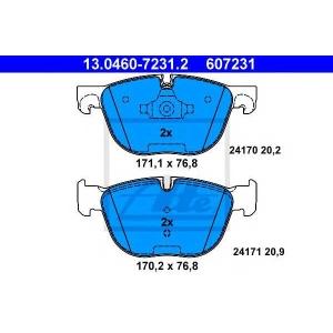 ATE 13.0460-7231.2 Комплект тормозных колодок, дисковый тормоз Бмв Х6